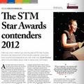 The STM Star Awards Contenders 2012